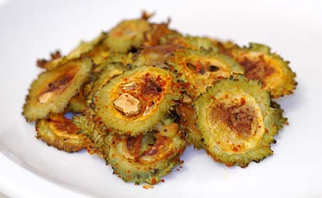 karela also known as bitter melon - a common dish in India