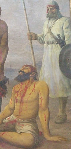The cutting of hair was a popular tactic used by Islamic invaders to destroy Sikh men's morale
